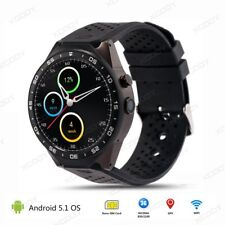 KW88 3G Smart Watch Android 5.1 4GB Bluetooth Heart Rate WIFI GPS SIM For Apple