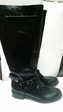 XOXO Marni Womens Black Riding Boots NEW in Box Size 5