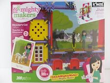 K'Nex Mighty Makers Director's Cut Lily Building Set 308 Pc 7+