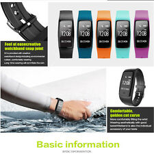 Makibes S1 Smartband Call Reminder Remote Camera Heart Rate Monitor Tracker BT4.