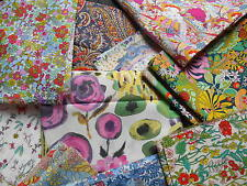 LIBERTY ART FABRIC - TANA LAWN REMNANT SALE- NEW DESIGNS- CRAFT SEWING QUILTING