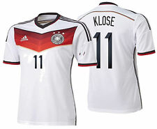 ADIDAS M. KLOSE GERMANY AUTHENTIC ADIZERO HOME JERSEY FIFA WORLD CUP BRAZIL 2014