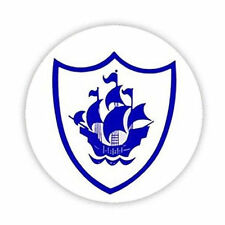BLUE PETER BADGE (Blue Font on White) Button Badge 38,45 & 58mm Pin Lapel TV