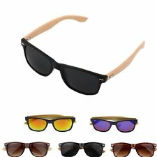 Bamboo Sunglasses Wooden Wood Mens Womens Retro Vintage Summer Glasses XP
