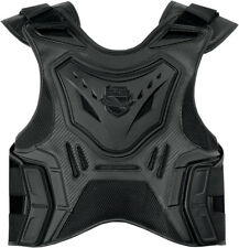 Icon Mens Stealth Black Field Armor Stryker Motorcycle Armored Vest