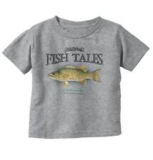 Smallmouth Bass Fish Sporting Goods Cool Graphic Fishing Infant Toddler T-Shirt
