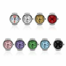 Ring Watch Quartz Finger Watches Rings Gifts Jewelry Steel Ring Watches F5