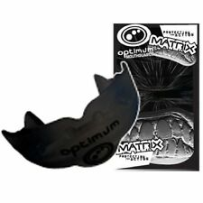 Optimum Matrix Mouth Guard - Black