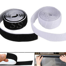 1M/3ft 2 Roll Self Adhesive Hook Loop Tape Fastener Strong Sticky Hot Sale