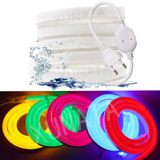 LED Neon Strip 220V 240V 5050 2835 120LEDs/M flexible Neon rope light 8x16mm