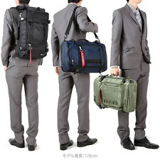 From Japan ALPHA INDUSTRIES INC Business bag Flight nylon A4 PC compatible 3way