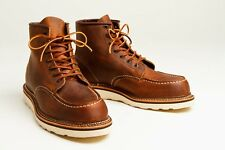 RED WING CLASSIC MOC TOE 1907 COPPER ROUGH & TOUGH LEATHER
