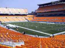 (2) Steelers vs Patriots Tickets Lower Level Row Y Aisle Seats!!