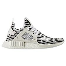 MENS ADIDAS NMD RUNNER XR1 PRIMKNIT WHITE CASUAL SHOES MEN'S SELECT YOUR SIZE