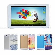 Tablet PC 7'' Android4.4 Dual Core 8GB Unlocked 2SIM 3G Phone Call WiFi GPS