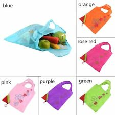 Hot Strawberry Handbag Foldable Shopping Bag Tote Reusable Grocery Bag XP