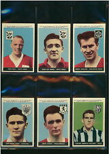 A&BC FOOTBALL CARDS 1958 1ST SERIES WITH PLANET - PICK CARD 1 TO 46 - VG/EXC