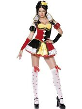 Adult Sexy Alice In Wonderland Queen of Hearts Ladies Fancy Dress Costume Outfit