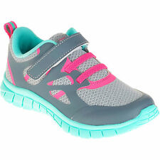 Danskin Now Toddler Girls Gray/Hot Pink/Mint Overlay Athletic Shoes Size 7