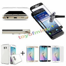 Tempered Glass Curved Full Cover Screen For Samsung Galaxy S7 Edge
