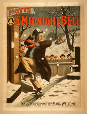 Photo Print Vintage Poster: Stage Theatre Flyer Hoyts A Midnight Bell 02