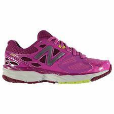 New Balance W680 v3 Running Shoes Womens Pink/Wht Trainers Sneakers Sports Shoe
