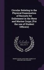 Circular Relating to the Physical Examination of Recruits for Enlistment in the