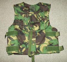 BRITISH ARMY ISSUE COTTON CAMO BODY ARMOUR COVER - EXTRA LARGE - NEW