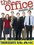 The Office: Season Six (DVD, 2010, 5-Disc Set) Brand New, Factory Sealed