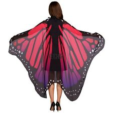Fashion Lady Women Butterfly Wing Shawl Cape Scarf Beach Wrap Cover-up KECP01