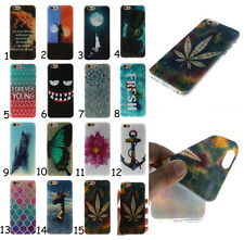 Ultra Slim Rubber Soft TPU Silicone Back Case Cover For LG Huawei Lenovo Phones