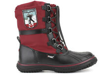 Pajar Canada Grip Low Red Women's Red Black Casual Lifestyle Winter Snow Boots