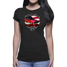 Dodge Challenger R/T American Muscle Women`s Dark T-Shirt