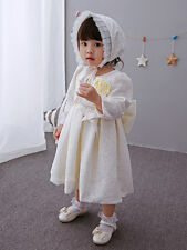 Kids Baby Flower Wedding Occosion Gown Pretty Birthday Christening Girls Dresses