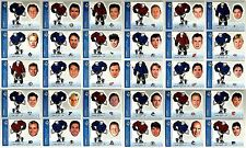 1998/99 98/99 UD CHOICE HOCKEY MINI BOBBING HEAD CARD (BH1-30)  U PICK FROM LIST
