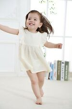 Baby Girl Toddler Summer Wear With Printed Flowers in 100% Cotton Dress Gd096