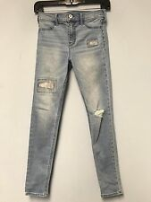 Abercrombie Kids Girls Size 14 Slim Blue Jeans