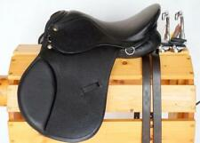 "13"" BROWN All Purpose English EVENT JUMP Saddle Leathers 36"" /48"" +Stirrup Irons"