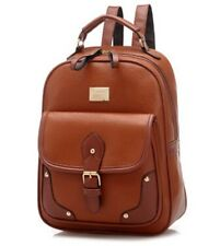 New Fashion Backpack Pu Leather Waterproof Travel Shoulder School Bag for Women