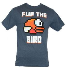 "Flappy Bird Mens T-Shirt -  ""Flip the Bird"" Flappy bird Image"