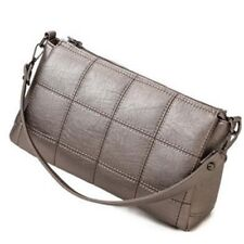 Women Casual Solid Color Fashion Pu Leather Cross Body Shoulder Bag