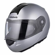 Schuberth C3 Basic Silver Helmet C-3 - (ALL SIZES!) - Fast & Free Shipping