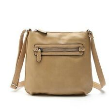 New Leather Material Casual Cell Phone Pocket Shoulder Cross-body Bag for Women