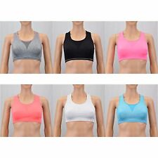 Champion C9 Girl's Activewear Cami Sports Bras, Mixed Colors Sizes S-XL - 2 Pack