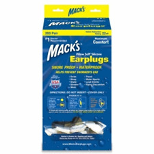 New Macks Pillow Soft Silicone Moldable Ear Plugs (200 Pair Dispenser)