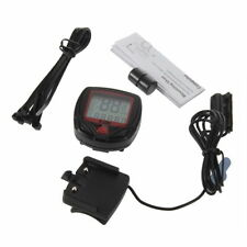 Cycling Bicycle Bike Computer LCD Odometer Speedometer Stopwatch Speed meter XP