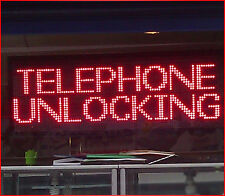 RED - LED SCROLLING DIGITAL PROGRAMMABLE MOVING MESSAGE SIGN BOARD(Custom Size)