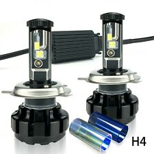 Headlight Kit 2Pcs Led Light Bulbs Super Bright Bulb Beam Canbus H4 Automobiles