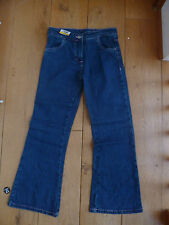 GEORGE GIRLS STONEWASHED BOOTCUT JEANS 100% COTTON 8 TO 9 , 9 TO 10 YEARS BNWT