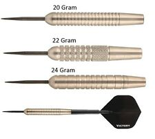 Victory Darts Nickel Silver Steel Tip Darts - Tungsten Look - 20g 22g or 24g